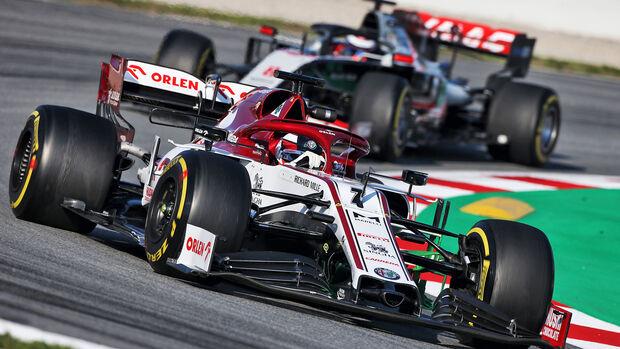 Kimi Räikkönen - Alfa Romeo - F1-Test - Barcelona - 20. Februar 2020