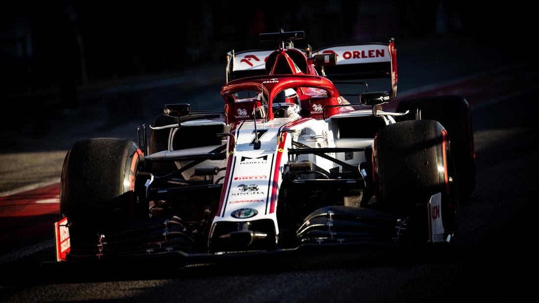Kimi Räikkönen - Alfa Romeo - F1-Test - Barcelona - 28. Februar 2020