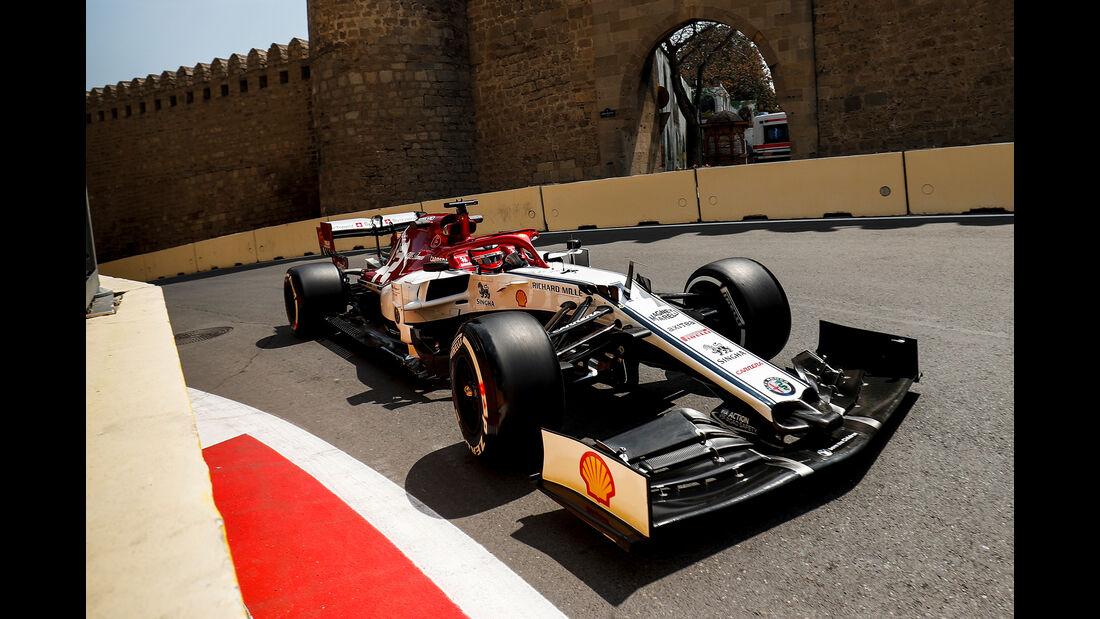 Kimi Räikkönen - Alfa Romeo - Formel 1 - GP Aserbaidschan - Baku - 26. April 2019