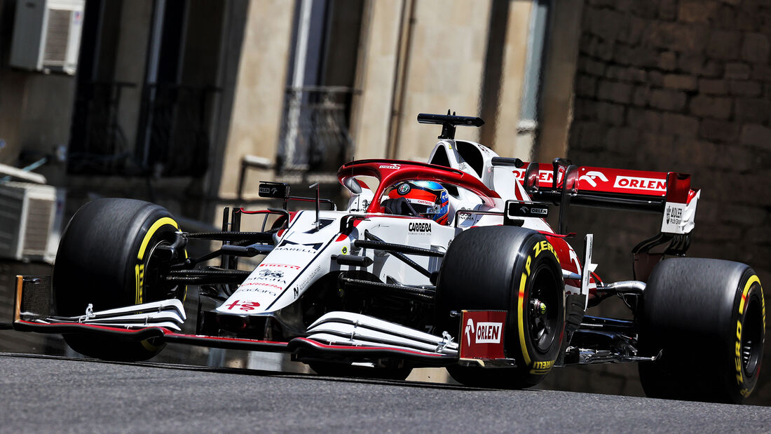 Kimi Räikkönen - Alfa Romeo - Formel 1 - GP Aserbaidschan - Baku - Freitag - 4.6.2021