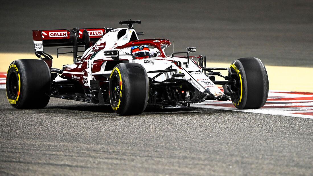 Kimi Räikkönen - Alfa Romeo - Formel 1 - GP Bahrain - Freitag - 26.3.2021