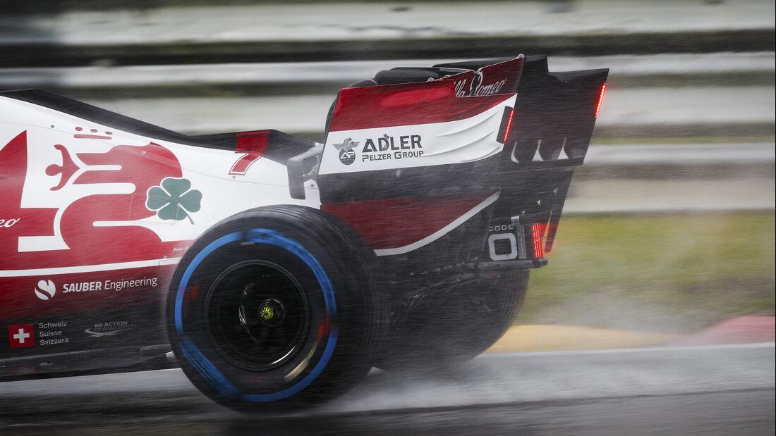 Kimi Räikkönen - Alfa Romeo - Formel 1 - GP Belgien - 29. August 2021