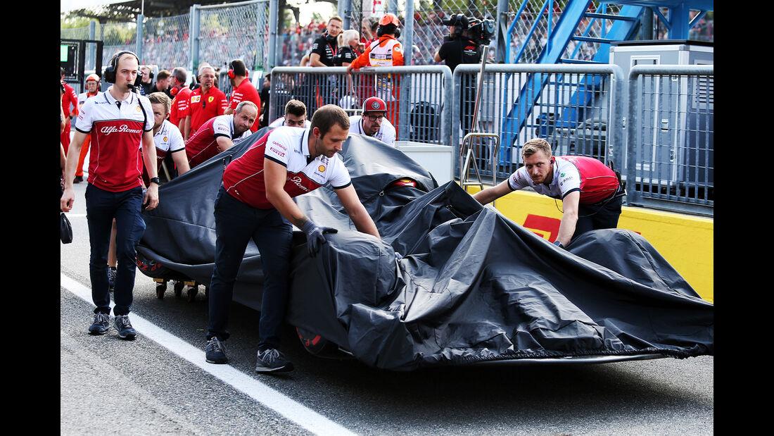 Kimi Räikkönen - Alfa Romeo  - Formel 1 - GP Italien - Monza - 7. September 2019