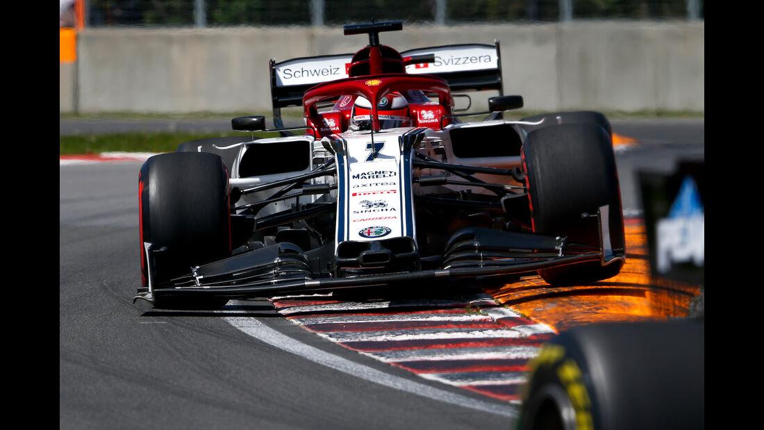 Kimi Räikkönen - Alfa Romeo - Formel 1 - GP Kanada - Montreal - 8. Juni 2019