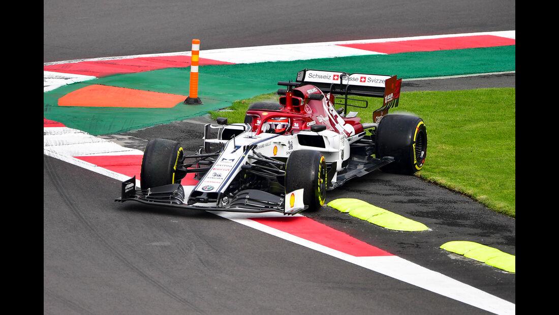 Kimi Räikkönen - Alfa Romeo - Formel 1 - GP Mexiko - 25. Oktober 2019