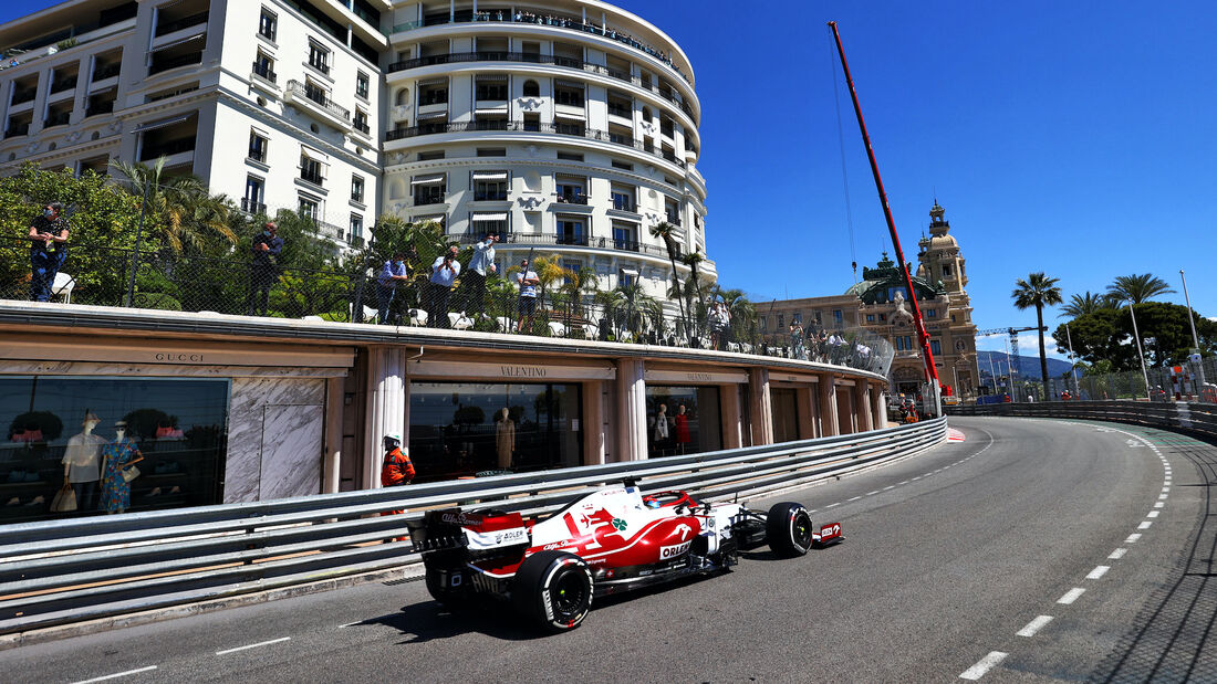 Kimi Räikkönen - Alfa Romeo - Formel 1 - GP Monaco - 20. Mai 2021