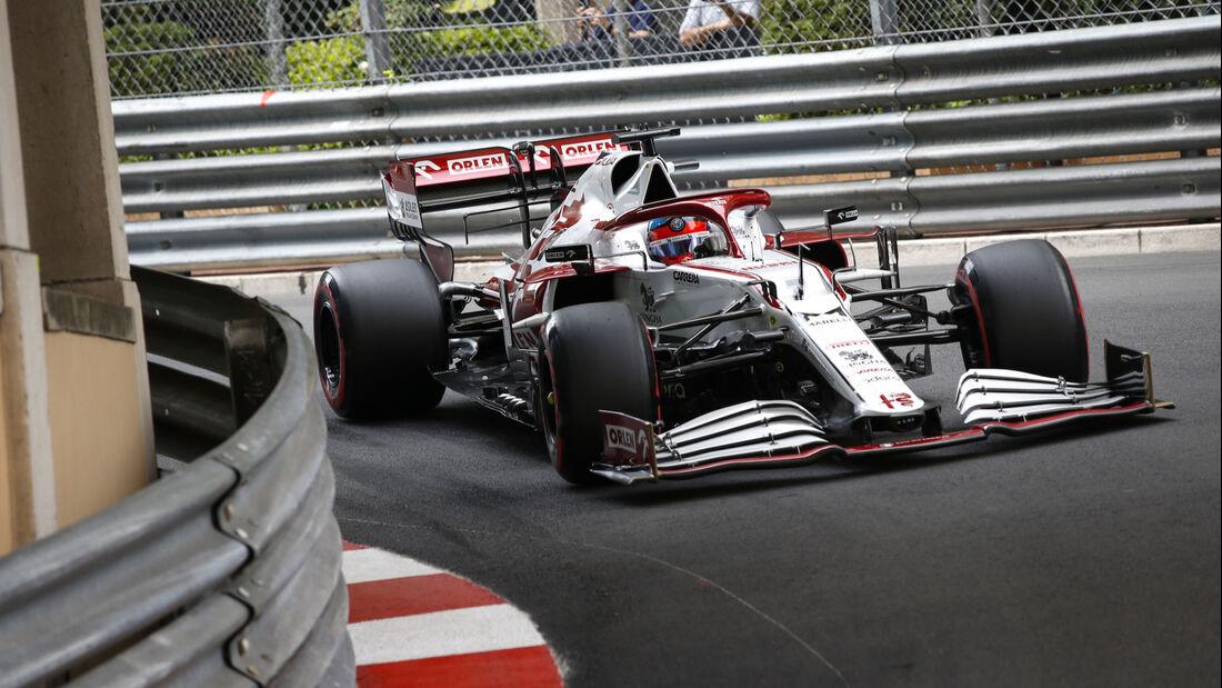 Kimi Räikkönen - Alfa Romeo - Formel 1 - GP Monaco 2021