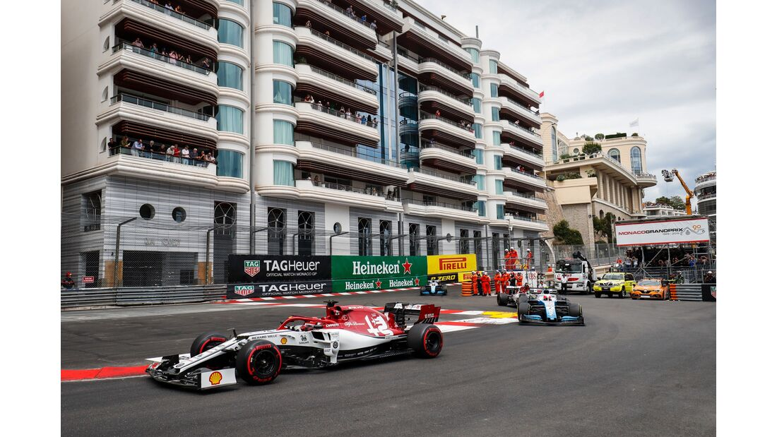 Kimi Räikkönen - Alfa Romeo - Formel 1 - GP Monaco - 26. Mai 2019