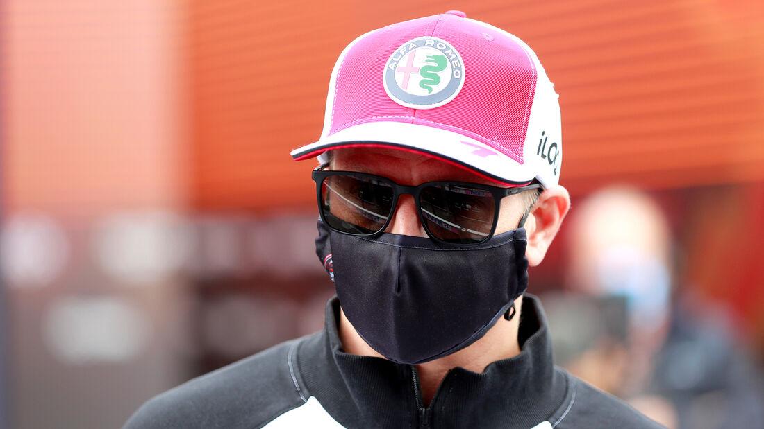 Kimi Räikkönen - Alfa Romeo - Formel 1 - GP Niederlande - Zandvoort - 2. September 2021