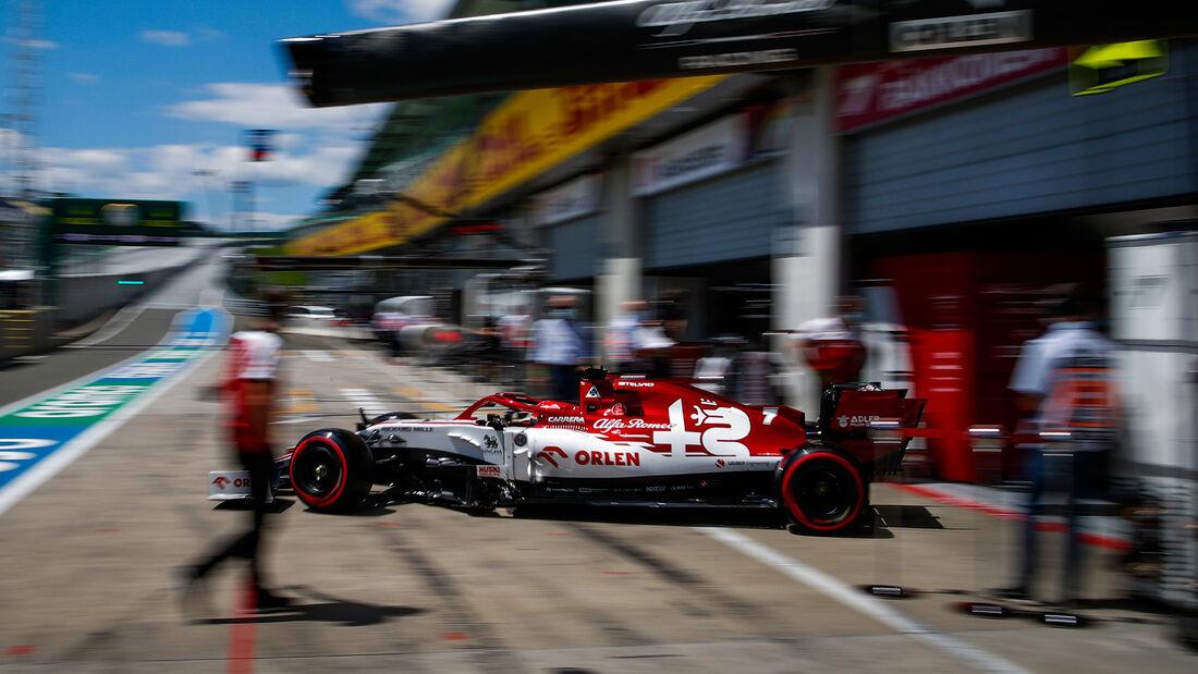 Kimi Räikkönen - Alfa Romeo - Formel 1 - GP Österreich - 4. Juli 2020