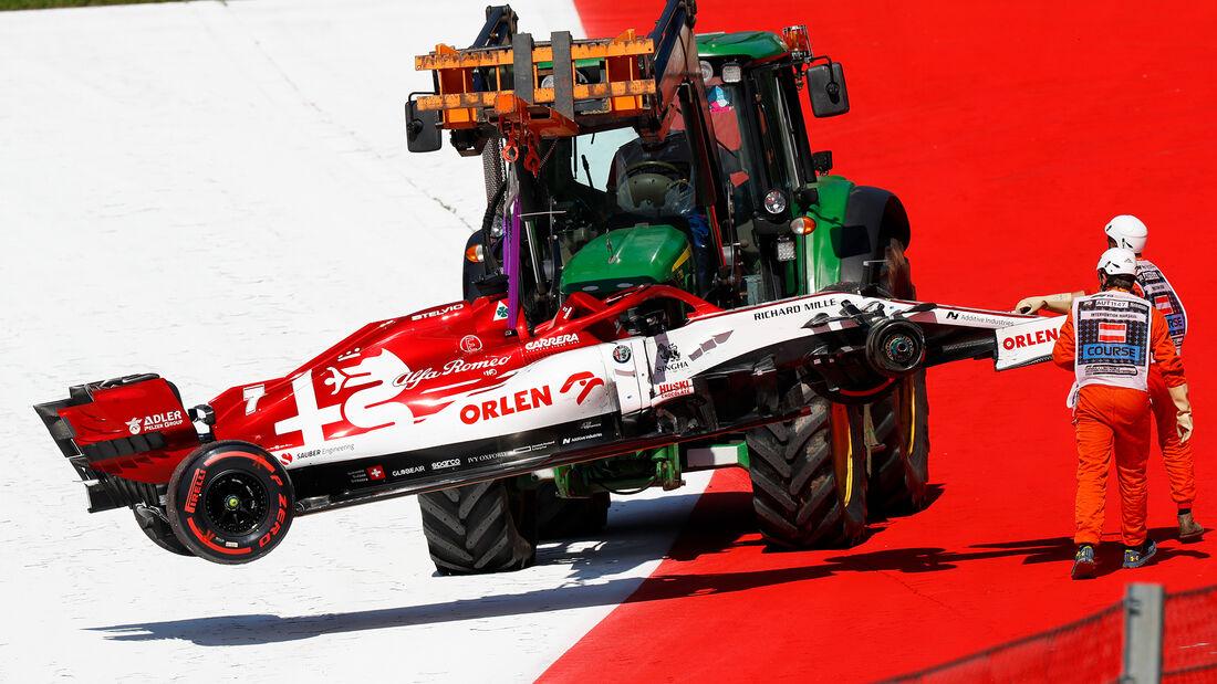Kimi Räikkönen - Alfa Romeo - Formel 1 - GP Österreich - Spielberg - 5. Juli 2020