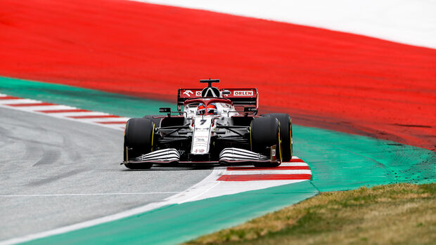 Kimi Räikkönen - Alfa Romeo - Formel 1 - GP Österreich - Spielberg - Freitag - 2.7.2021