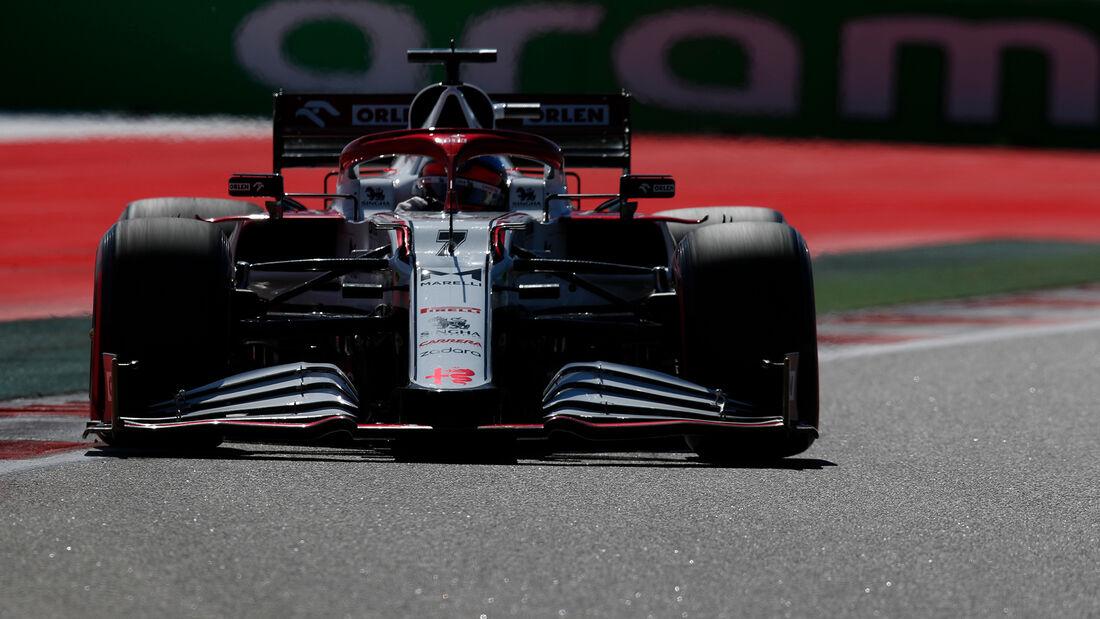 Kimi Räikkönen - Alfa Romeo - Formel 1 - GP Russland - Sotschi - 24. September 2021