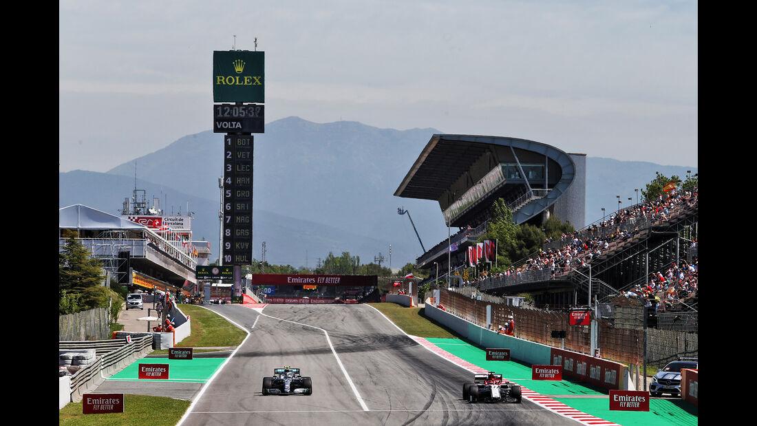 Kimi Räikkönen - Alfa Romeo - Formel 1 - GP Spanien - Barcelona - 10. Mai 2019