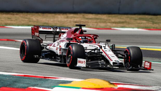 Kimi Räikkönen - Alfa Romeo - Formel 1 - GP Spanien - Barcelona - Qualifying - Samstag - 15. August 2020