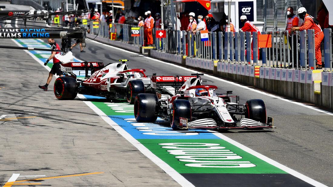 Kimi Räikkönen - Alfa Romeo - Formel 1 - GP Steiermark - 26. Juni 2021