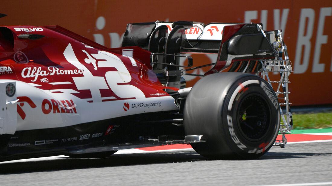 Kimi Räikkönen - Alfa Romeo - Formel 1 - GP Steiermark - Österreich - Spielberg - 10. Juli 2020