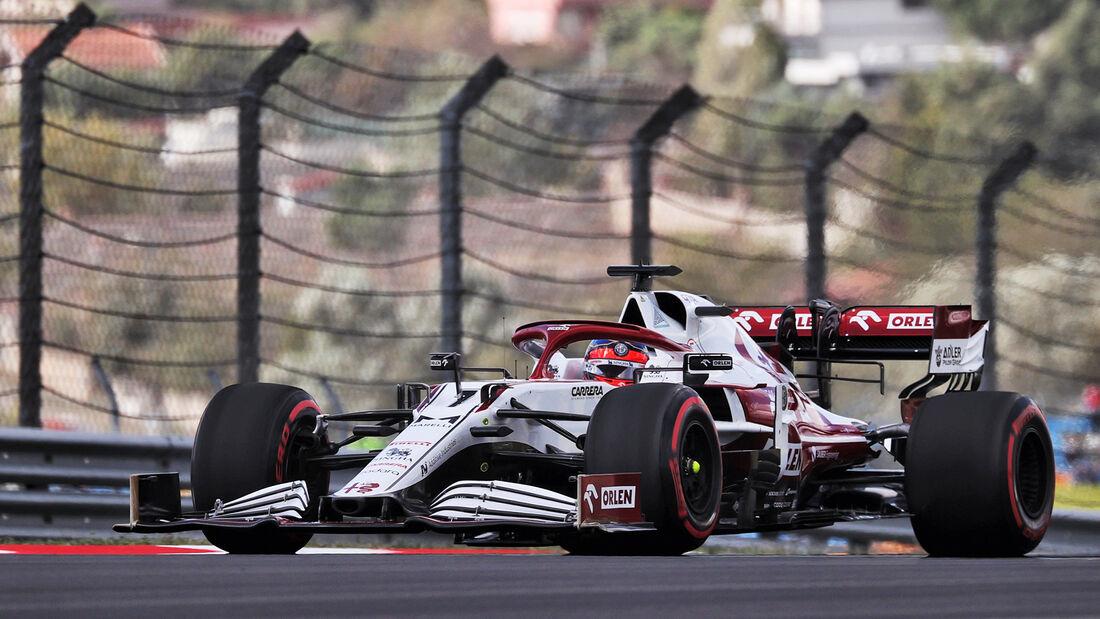 Kimi Räikkönen - Alfa Romeo - Formel 1 - GP Türkei - Istanbul - 8. Oktober 2021