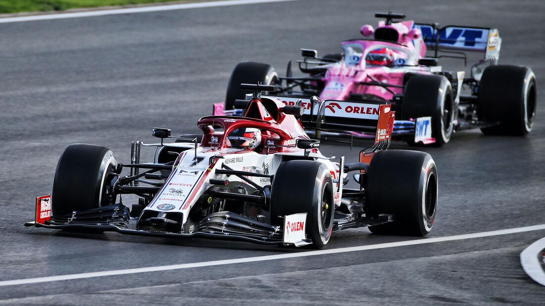 Kimi Räikkönen - Alfa Romeo - Formel 1 - GP Türkei - Istanbul - Freitag - 13.11.2020