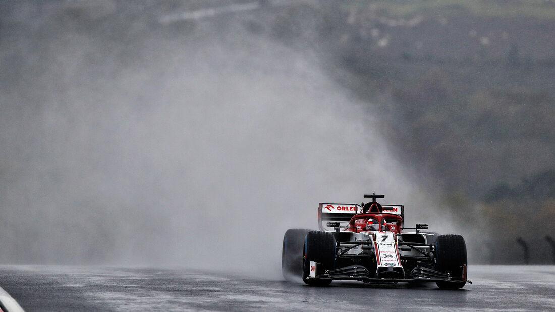 Kimi Räikkönen - Alfa Romeo - Formel 1 - GP Türkei - Istanbul - Samstag - 14.11.2020