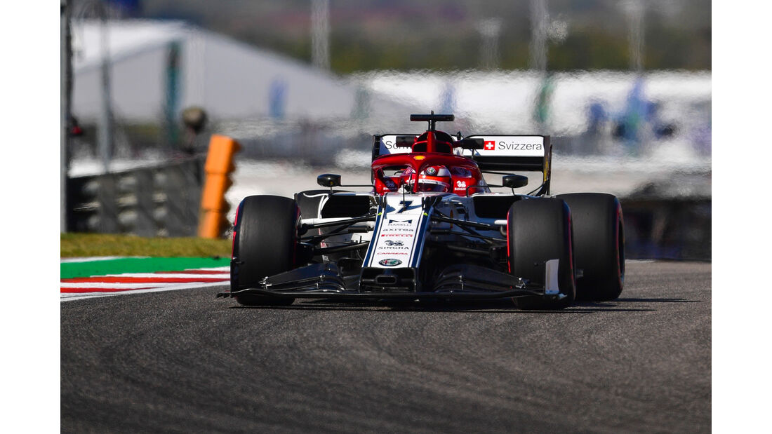 Kimi Räikkönen - Alfa Romeo - Formel 1 - GP USA - Austin - 1. November 2019