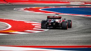Kimi Räikkönen - Alfa Romeo - Formel 1 - GP USA - Austin - Freitag - 22.10.2021