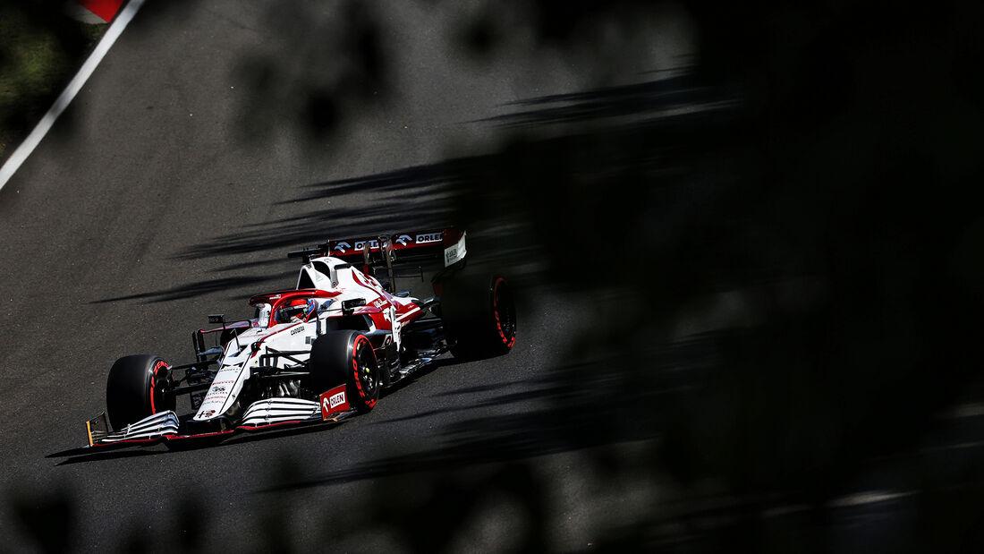 Kimi Räikkönen - Alfa Romeo - Formel 1 - GP Ungarn - Budapest - Samstag - 31. Juli 2021