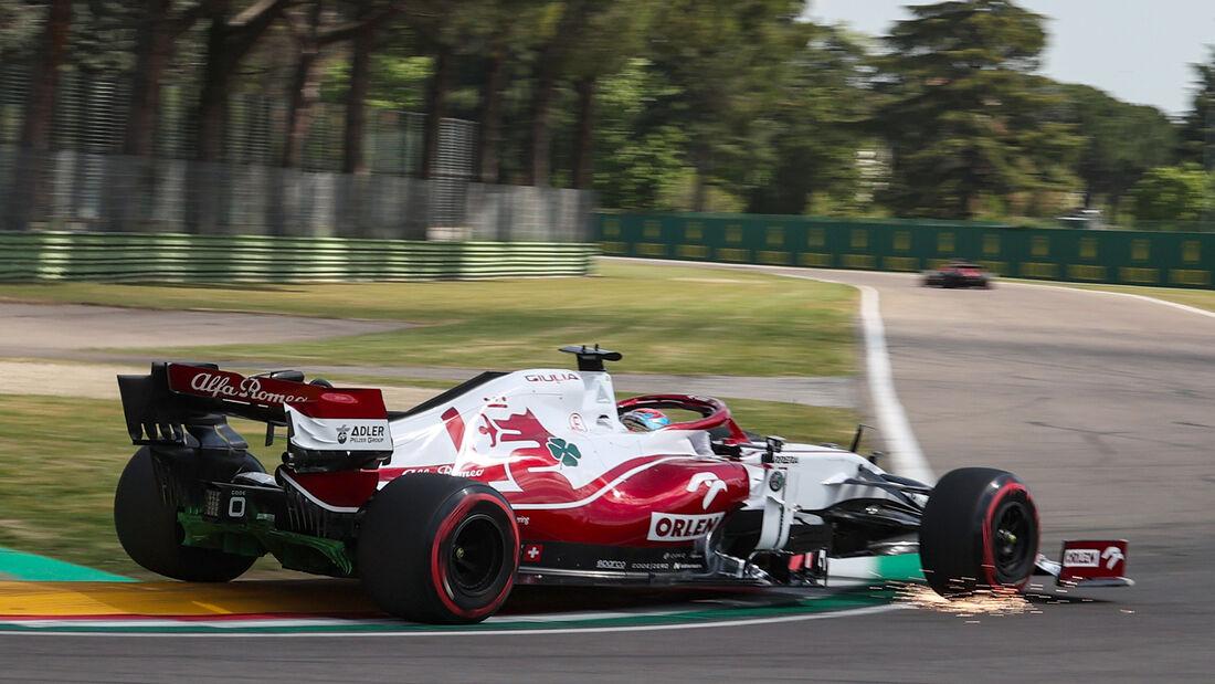 Kimi Räikkönen - Alfa Romeo - Formel 1 - Imola - GP Emilia-Romagna - 16. April 2021
