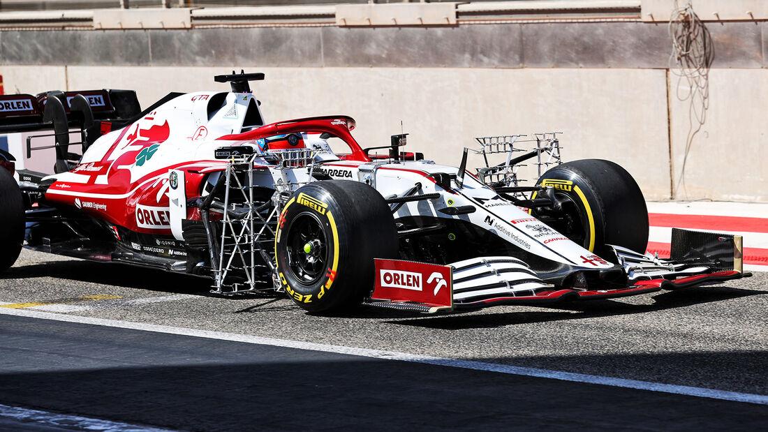 Kimi Räikkönen - Alfa Romeo - Formel 1 - Test - Bahrain - 14. März 2021