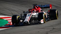 Kimi Räikkönen - Alfa Romeo - Formel 1 - Testfahrten - Barcelona 2020
