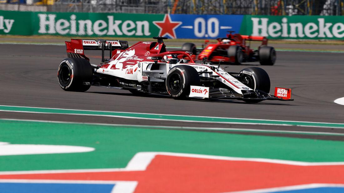 Kimi Räikkönen - Alfa Romeo - GP 70 Jahre F1 - Silverstone