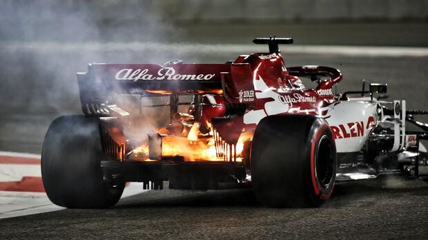 Kimi Räikkönen - Alfa Romeo - GP Abu Dhabi 2020