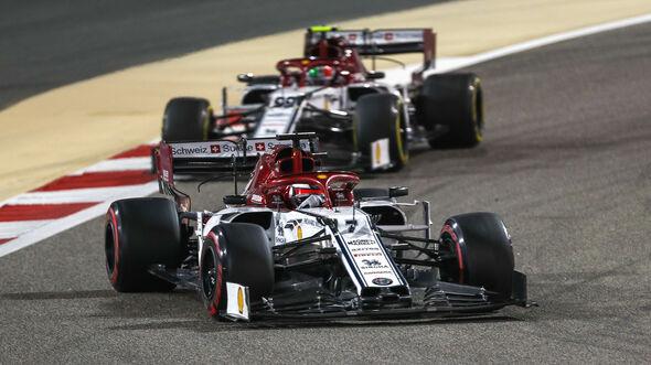 Kimi Räikkönen - Alfa Romeo - GP Bahrain 2019