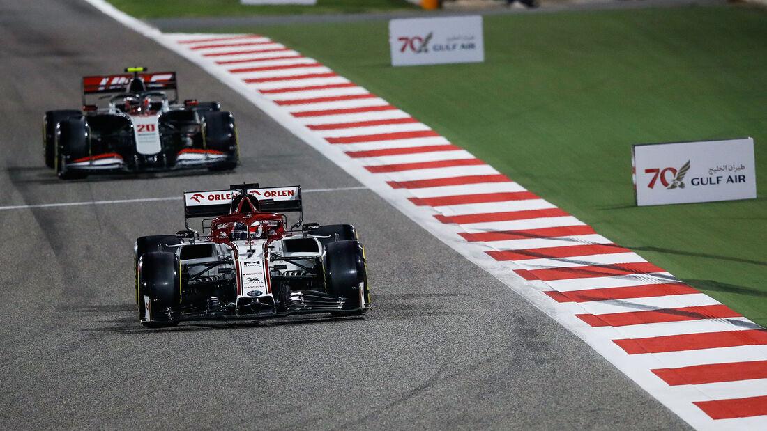 Kimi Räikkönen - Alfa Romeo - GP Bahrain 2020 - Sakhir