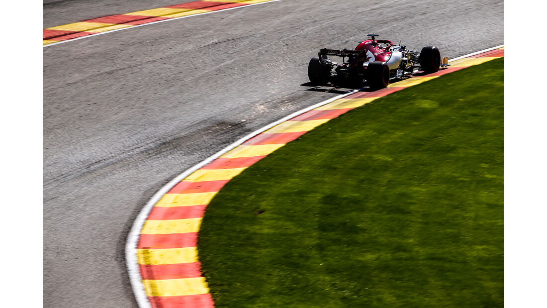 Kimi Räikkönen - Alfa Romeo - GP Belgien - Spa-Francorchamps - Formel 1 - Freitag - 30.8.2019