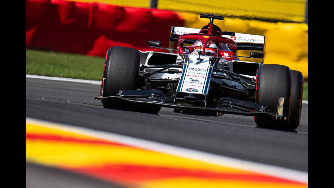 Kimi Räikkönen - Alfa Romeo - GP Belgien - Spa-Francorchamps - Formel 1 - Samstag - 31.8.2019