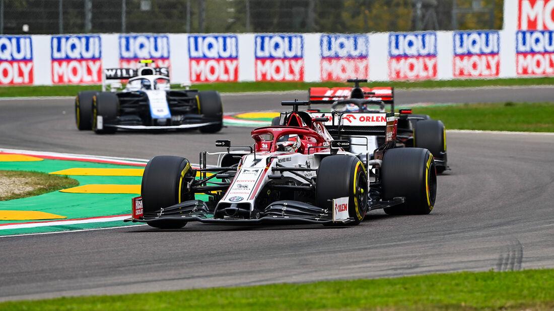 Kimi Räikkönen - Alfa Romeo - GP Emilia-Romagna 2020 - Imola