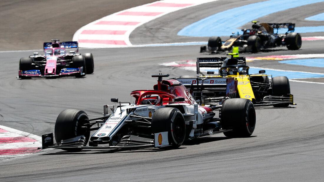 Kimi Räikkönen - Alfa Romeo - GP Frankreich 2019 - Paul Ricard