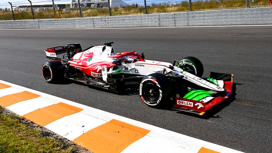 Kimi Räikkönen - Alfa Romeo - GP Niederlande - Zandvoort - Formel 1 - 3. September 2021