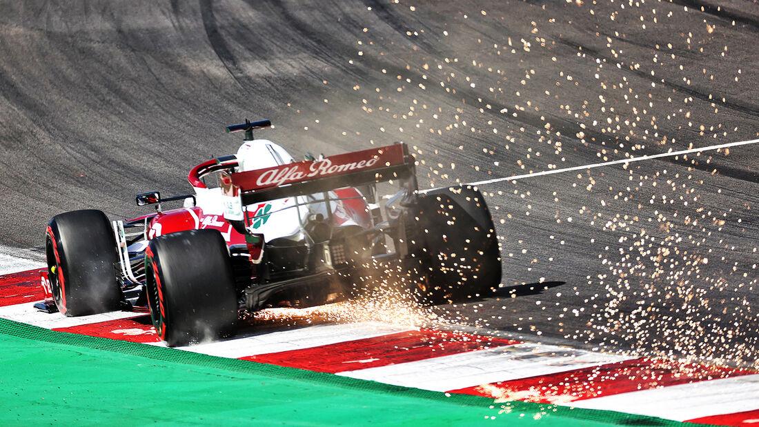 Kimi Räikkönen - Alfa Romeo - GP Portugal - Portimao - 1. Mai 2021