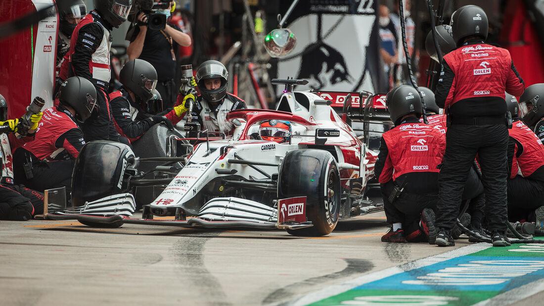 Kimi Räikkönen - Alfa Romeo - GP Russland 2021 - Sotschi