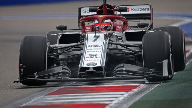 Kimi Räikkönen - Alfa Romeo - GP Russland - Sotschi - Formel 1 - Freitag - 27.9.2019
