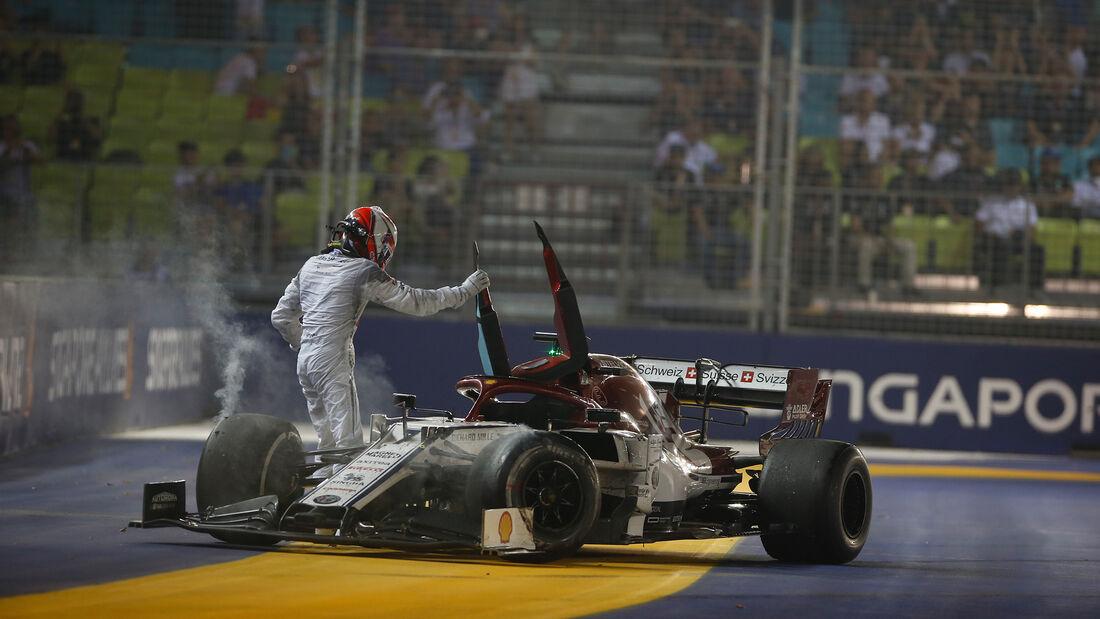 Kimi Räikkönen - Alfa Romeo - GP Singapur 2019