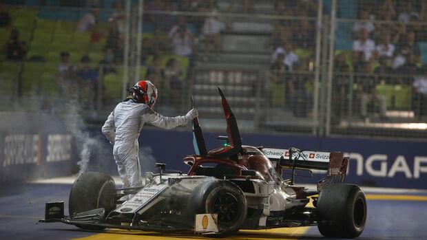 Kimi Räikkönen - Alfa Romeo - GP Singapur 2019 - Rennen