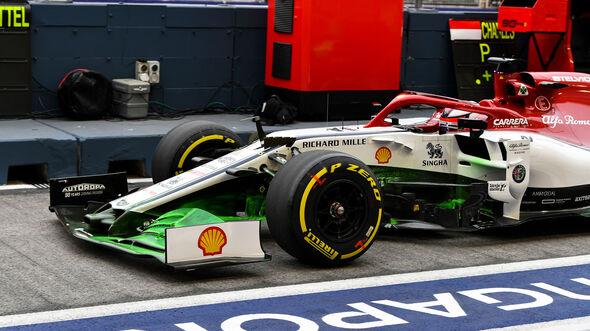Kimi Räikkönen - Alfa Romeo - GP Singapur - Formel 1 - Freitag - 20.9.2019