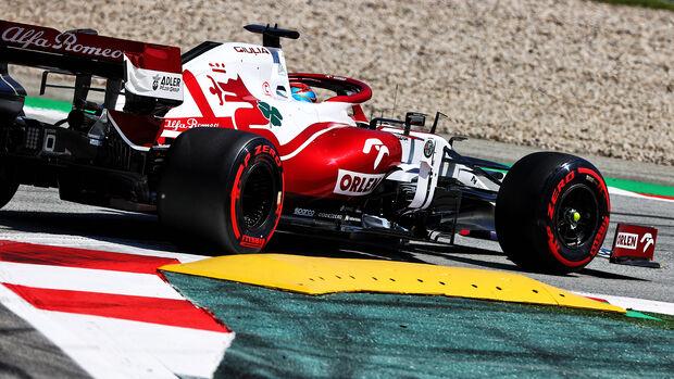 Kimi Räikkönen - Alfa Romeo - GP Spanien 2021 - Barcelona
