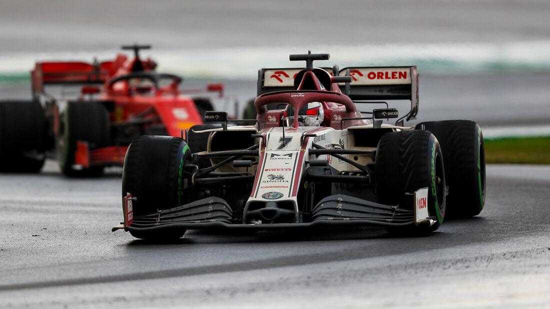 Kimi Räikkönen - Alfa Romeo - GP Türkei 2020 - Istanbul - Rennen