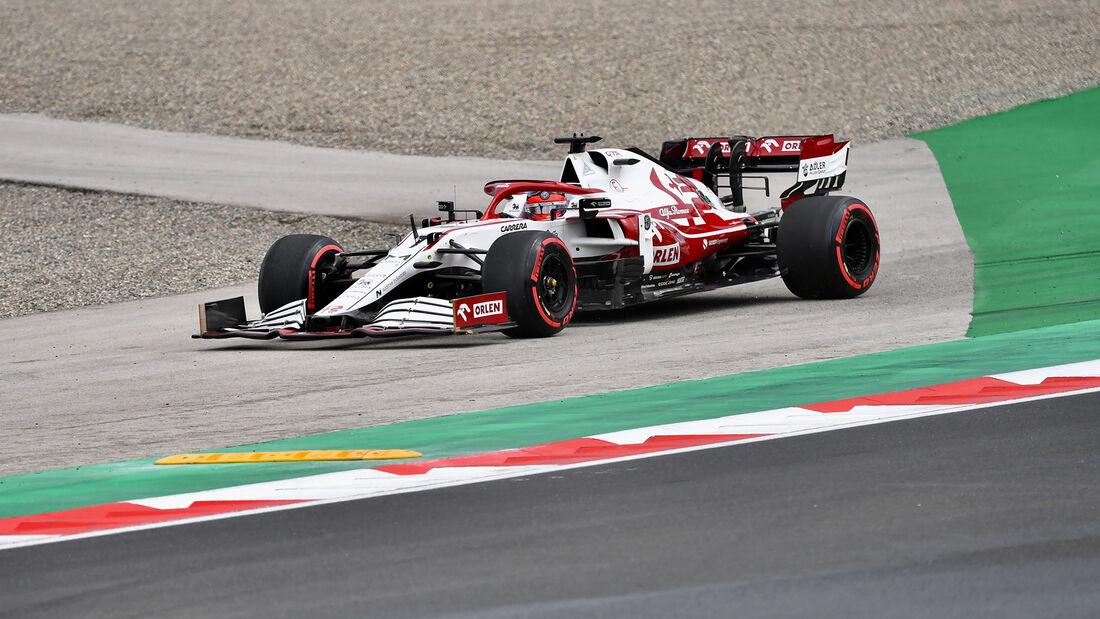 Kimi Räikkönen - Alfa Romeo - GP Türkei - Istanbul - Formel 1 - 9. Oktober 2021