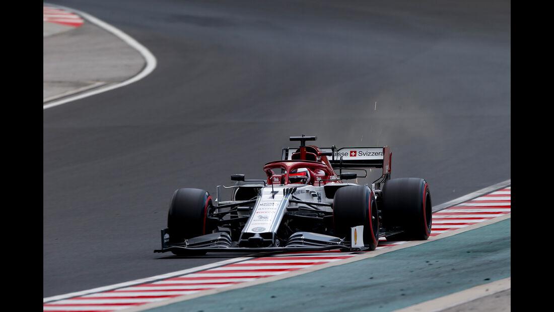 Kimi Räikkönen - Alfa Romeo - GP Ungarn 2019 - Budapest - Qualifying