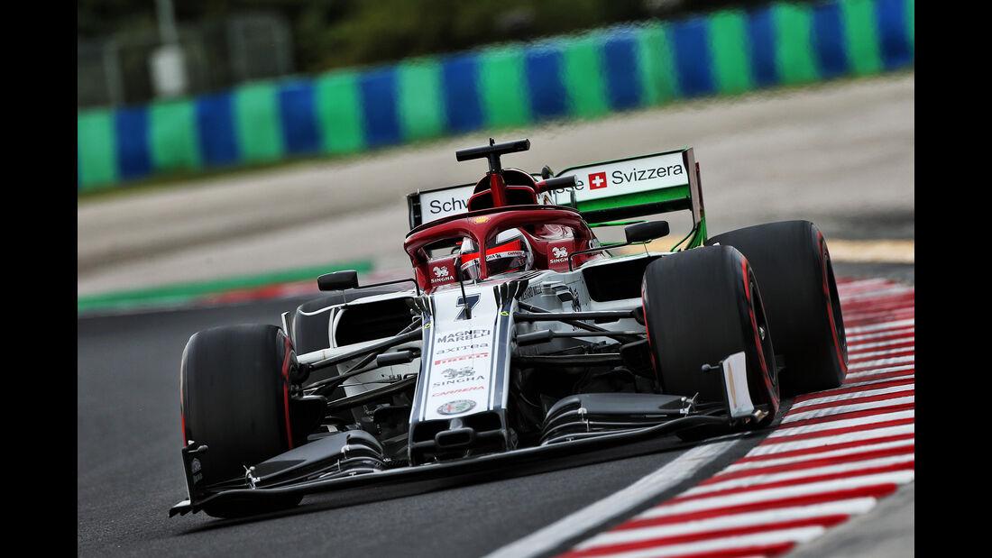 Kimi Räikkönen - Alfa Romeo - GP Ungarn - Budapest - Formel 1 - Freitag - 2.8.2019